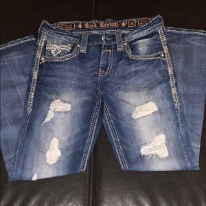 Rock Revival Jeans - Men's 32/31 Vadeem slim boot Rock Revival